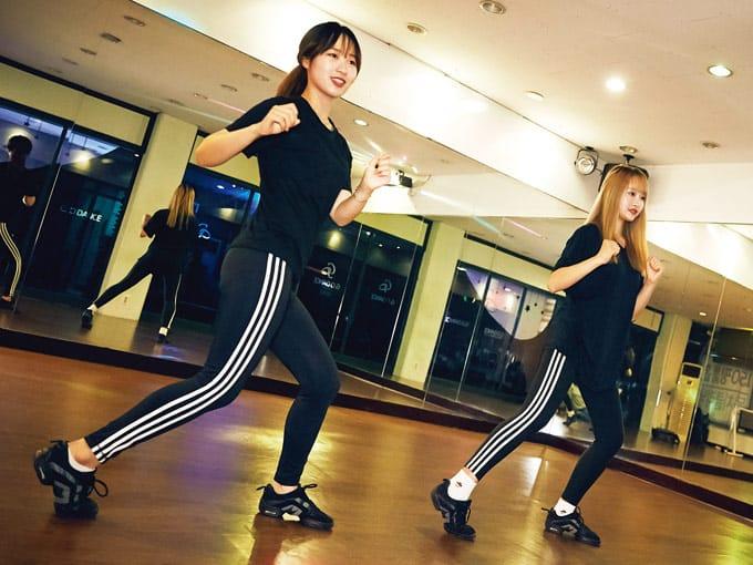 운동하는 직장인들 #댄스