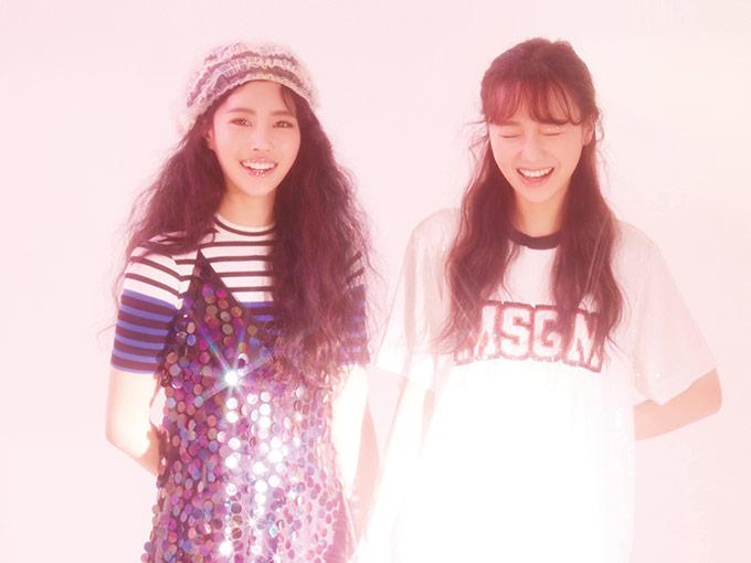 여자친구 예린・마마무 문별 & 솔라  러블리즈 수정 & 미주의 행복한 미소