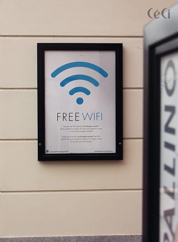 무료 와이파이로 실시간 가격 비교도 문제 없어요.