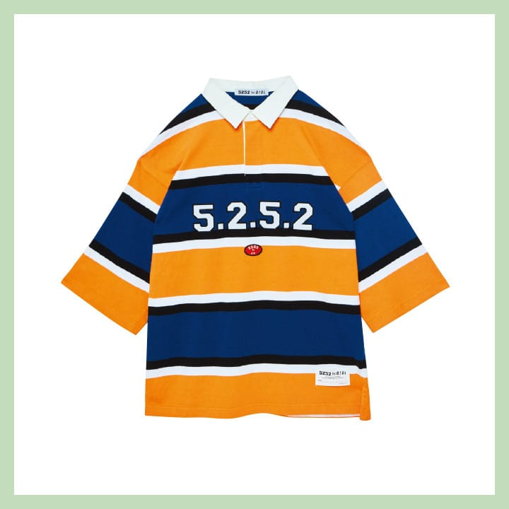 스트라이프 티셔츠 7만6천원 5252 by OiOi
