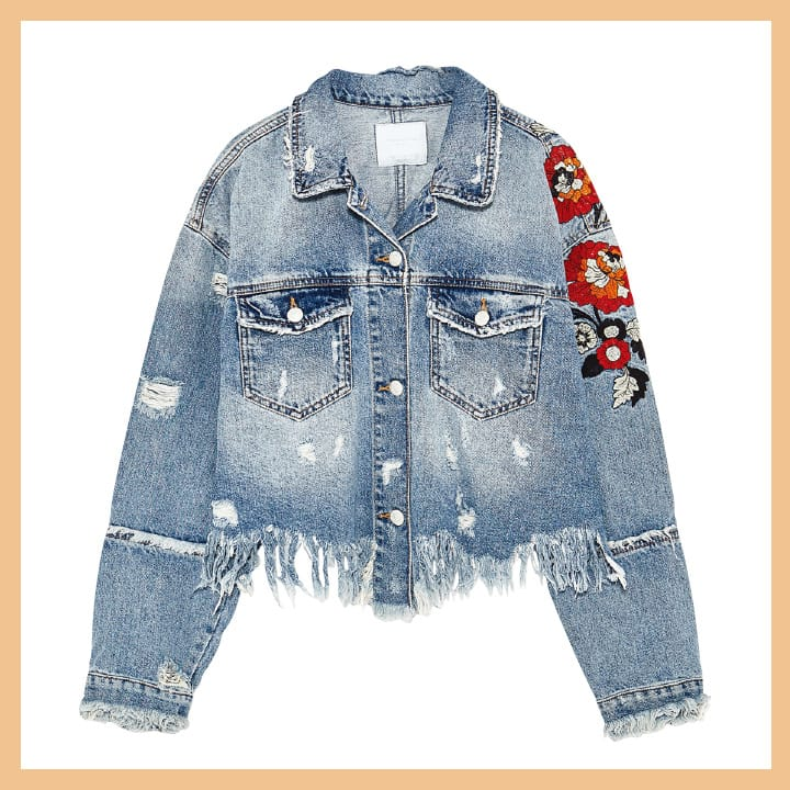 데님 재킷 11만9천원 Zara